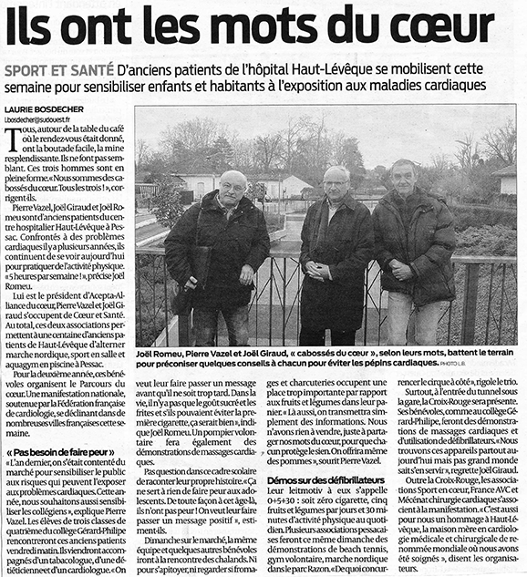 Sud-Ouest 3 avril 2013